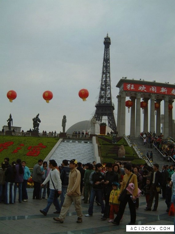 The Chinese Paris (8 pics)