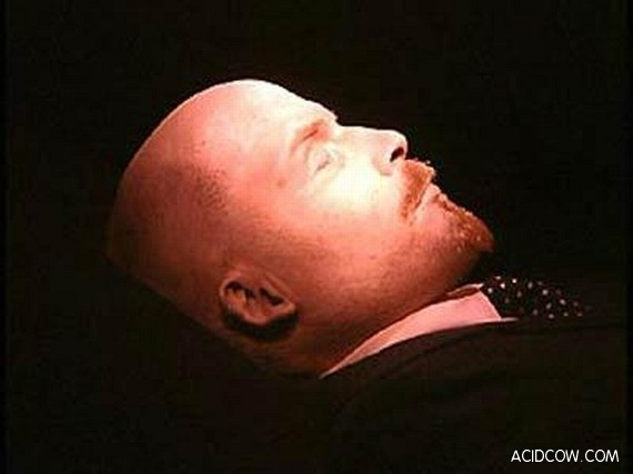 Body Of Famous Soviet Symbol - Lenin (11 pics)