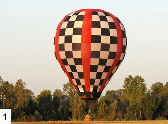 The hot air balloon that got away (6 pics)