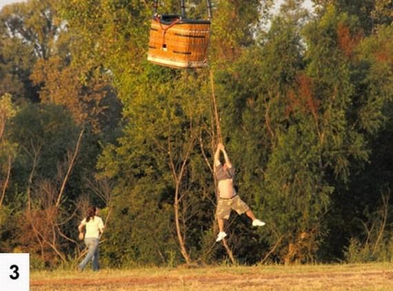The hot air balloon that got away (6 pics)