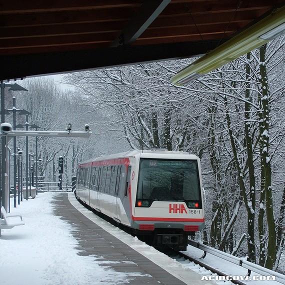 Hamburg Metro (20 pics)