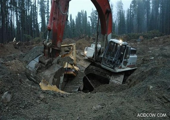 Angry Digger Man's Revenge (15 pics)