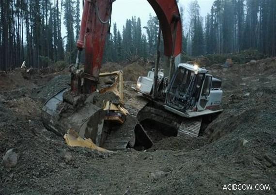 Angry Digger Man's Revenge (15 pics)