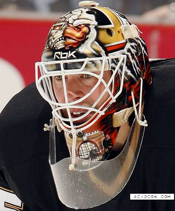 NHL Goalkeeper's Mask (39 pics)