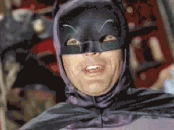 Drugged-out Batman
