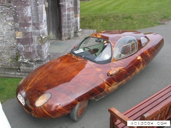 World's best wooden cars (15 pics)