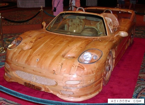 World's best wooden cars (15 pics)