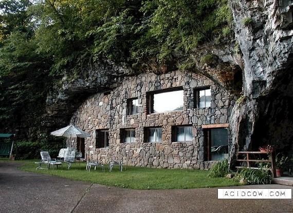 Unusual Hotel Located in a Rock (13 pics)