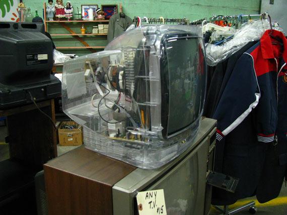 Transparent TV (3 pics)