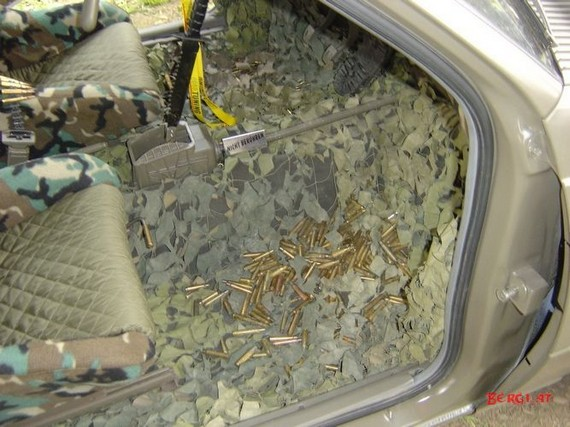 Army Fan's Car (34 pics)