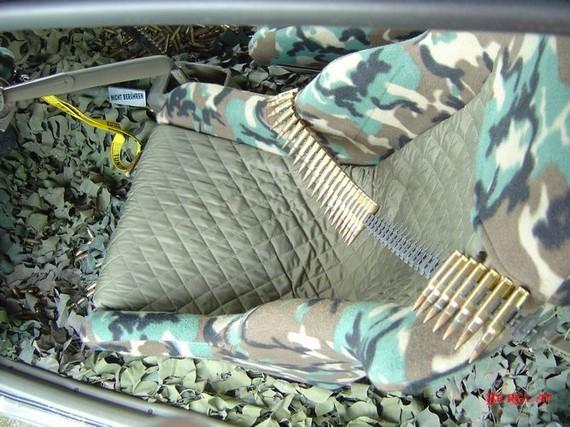 Army Fan's Car (34 pics)