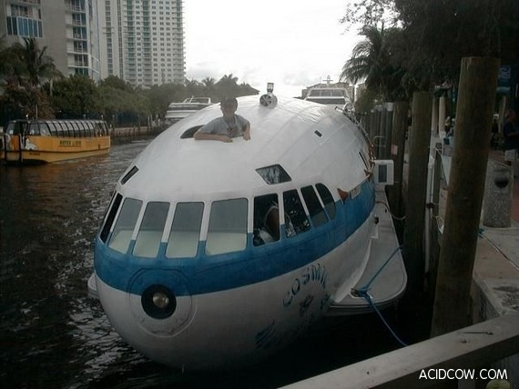 How to Make a Boat From the Plane? (21 pics)