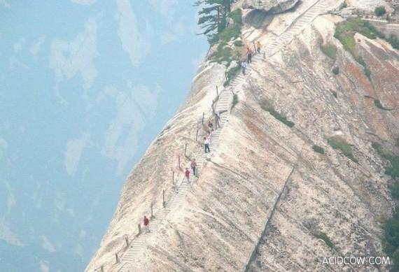 Pure Adrenalin Mount Hiking (8 Pics)