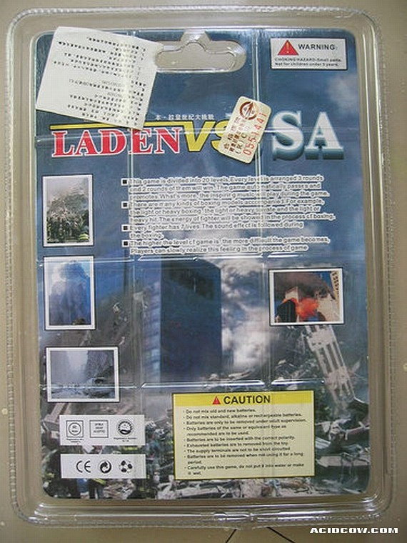Laden vs. USA (2 pics)