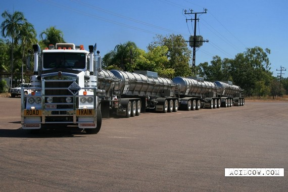 The Longest Truck In The World (9 pics)