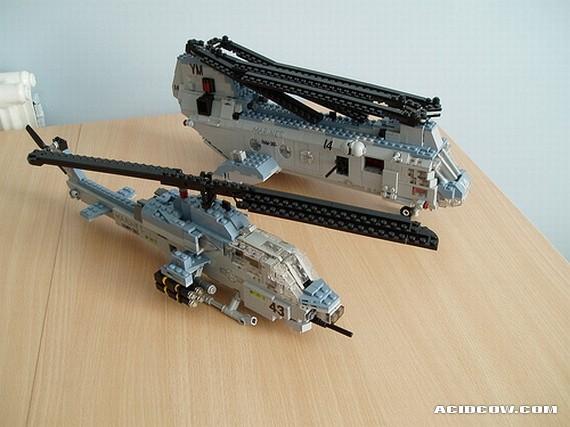 Лего военные вертолёты своими руками