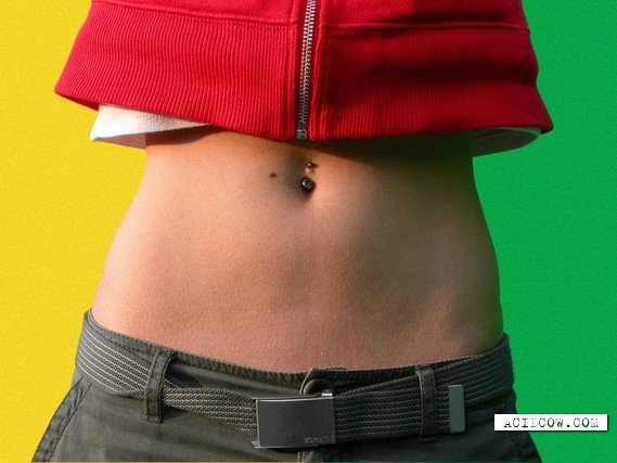 Sexy belly button piercing (20 pics)