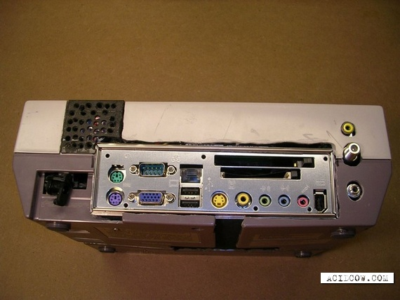 Personal computer in form of game console (12 pics)