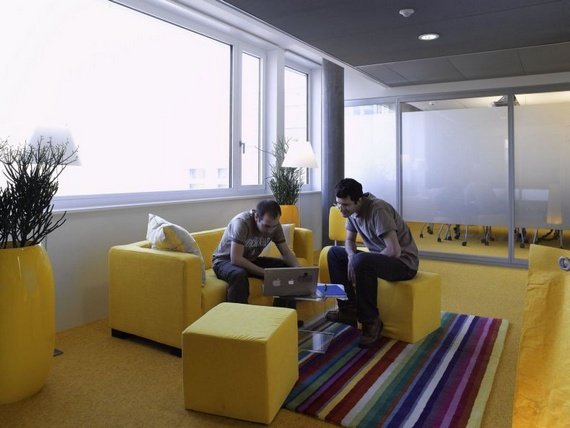Google Office in Zurich (50 pics)