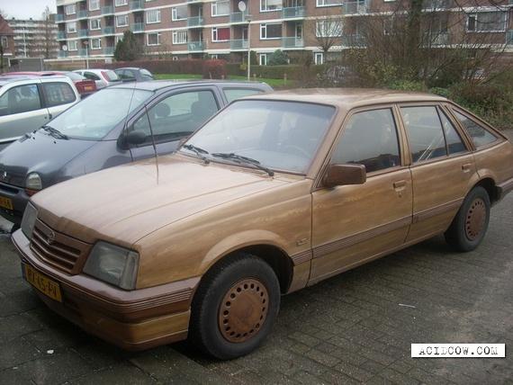 Wooden Opel (6 pics)