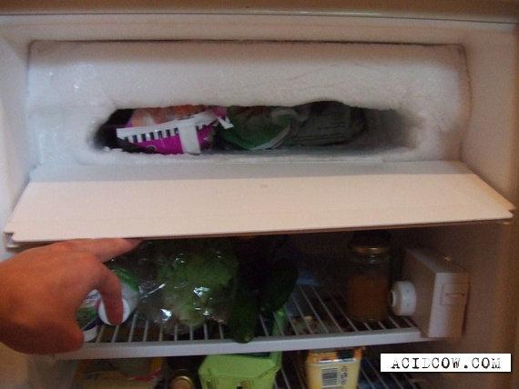 Strongly frozen refrigerators (16 pics)