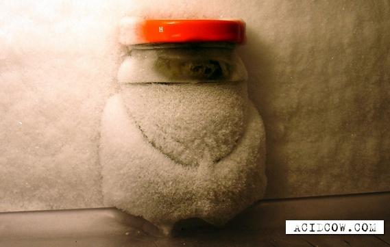 Strongly frozen refrigerators (16 pics)