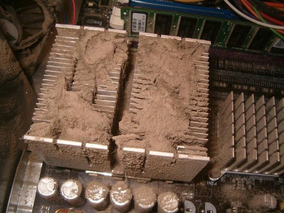 Dusty computers (31 pics)