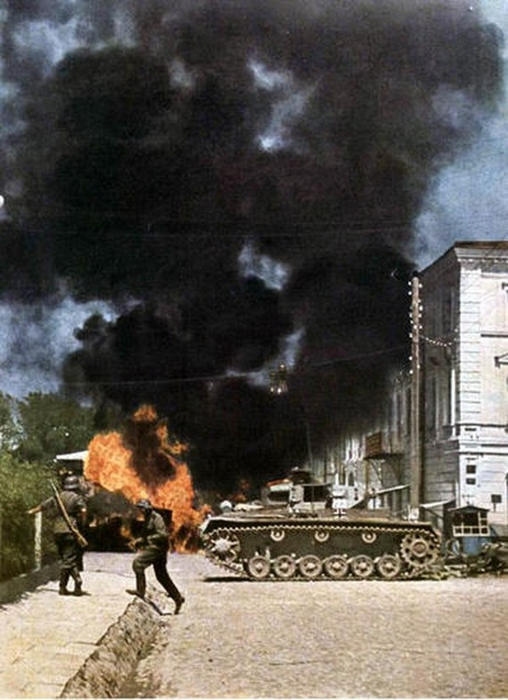 World War 2 Pictures In Color