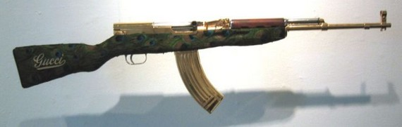 Fashionable weapon (36 pics)