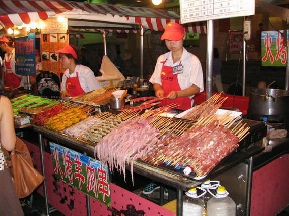 Chinese shish-kebabs (15 pics)