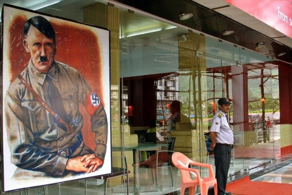 Hitler's Cross Restaurant - Bombay, India (4 pics)