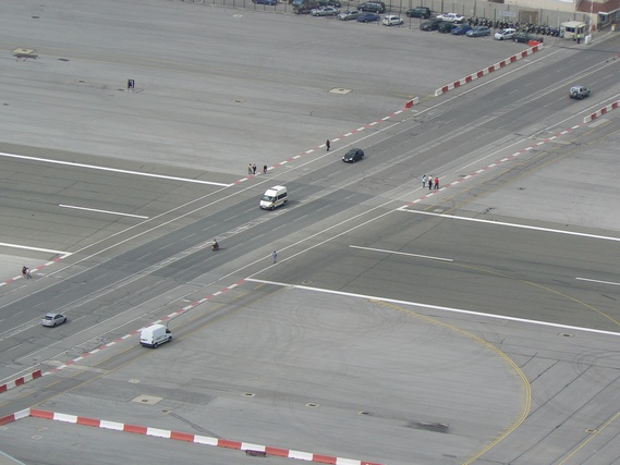 The airport + highway (8 pics)