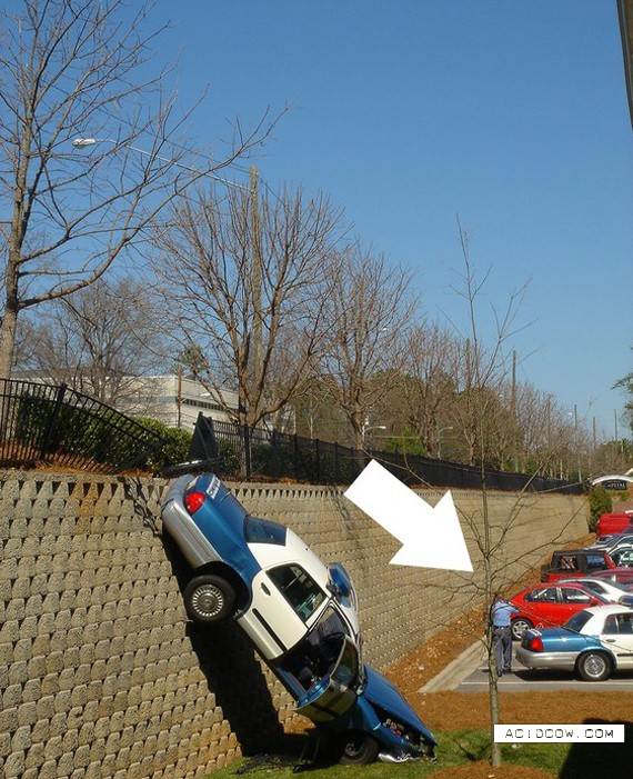 Police car crash accident (4 pics)