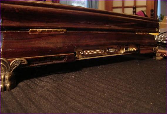 Steampunk laptop (8 pics)