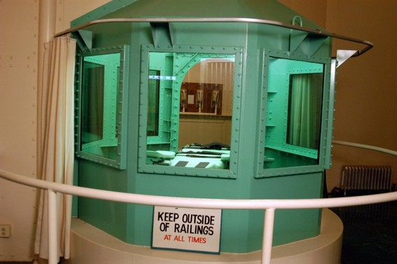 Cell for execution of the death penalties in...