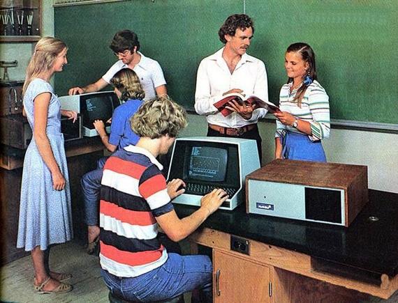 The beginning of a computer era (16 pics)
