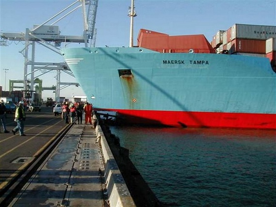 Ship parking fail (7 pics)