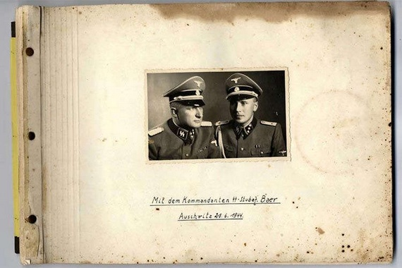 Personal picture album of the German officer