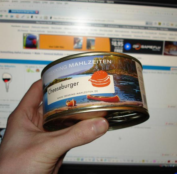 This is a cheeseburger. In a can... (8 pics)