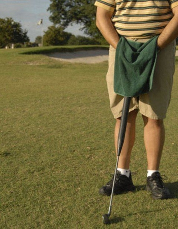 Golf Club You Can Pee Into (4 pics)