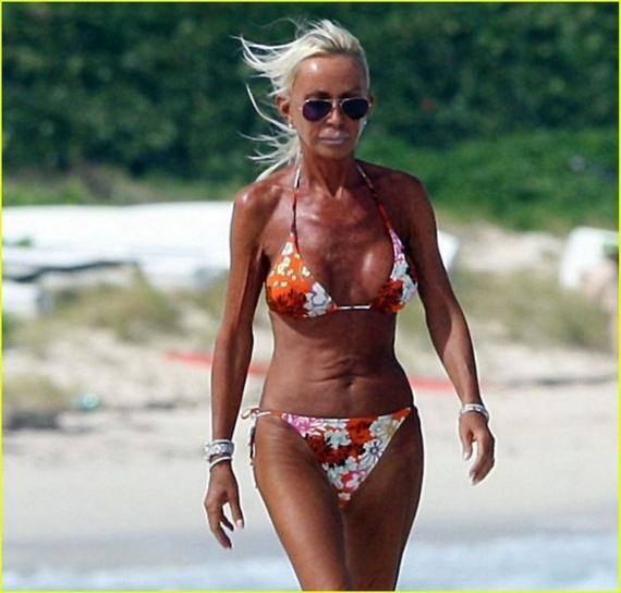 Opinion you donatella versace bikini photo think