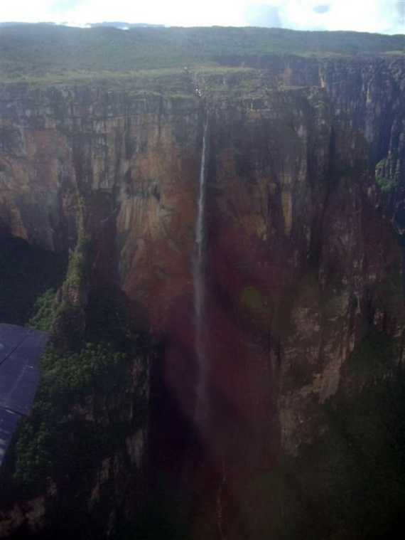 The world's highest waterfall (25 pics)