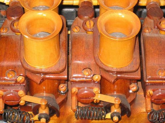 Amazing Hand-Built Wooden Ferrari Engine...