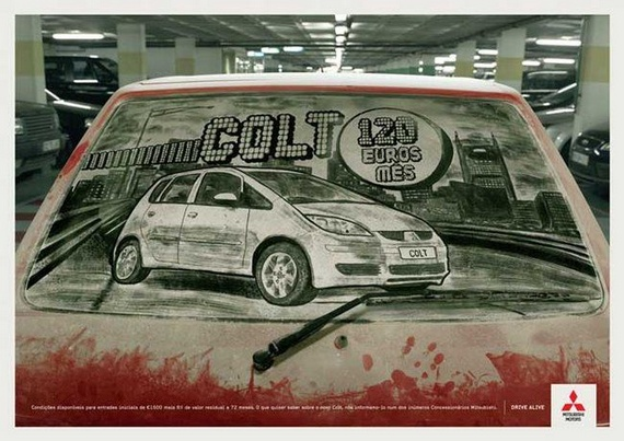 Amazing dirty car art by Scott Wade (32 pics)