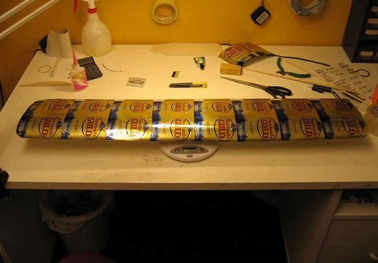How to Build a Model Airplane out of Beer Cans