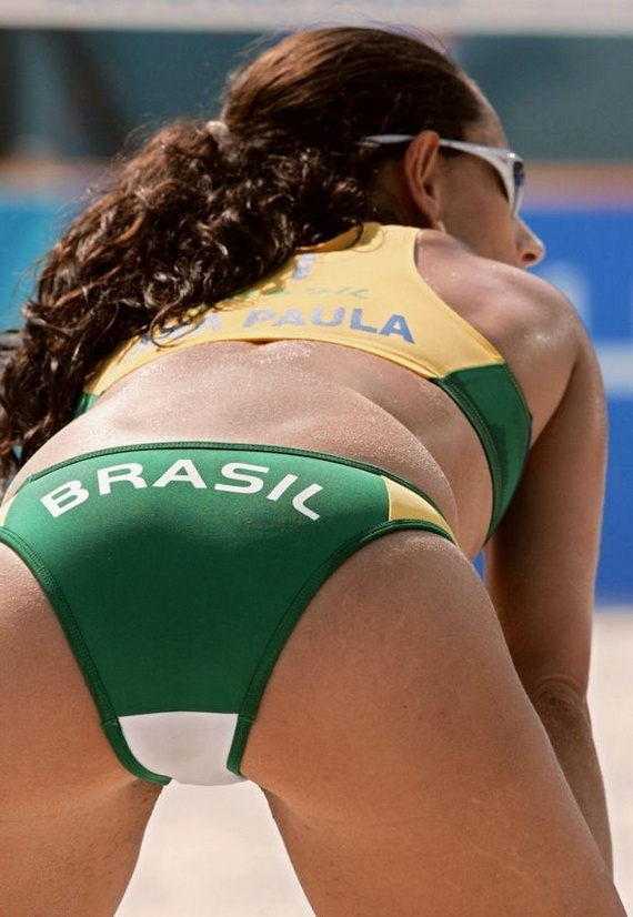 Beach Volleyball Girls (75 pics)