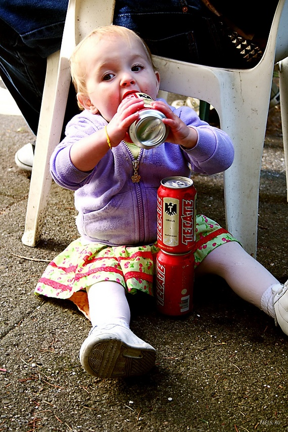 Kids and the beer! (22 pics)