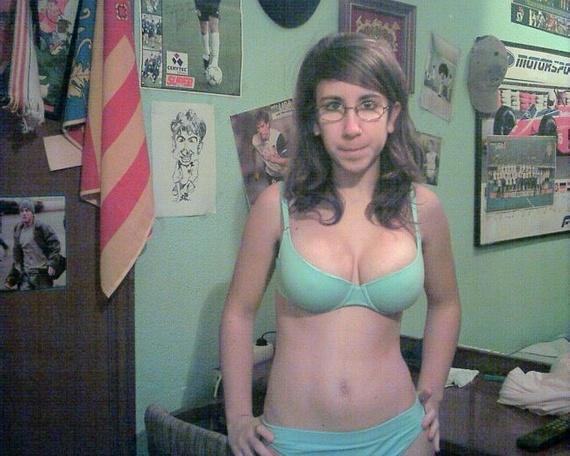 huge boob ugly face