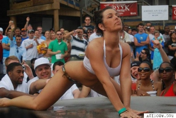 Wet T-shirt Contest (33 pics)