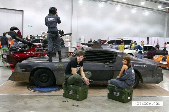 Russian Students Build Death Race Style...